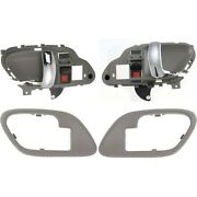 Interior Door Handle Kit Front Left-and-right For Chevy Suburban Lh And Rh Tahoe