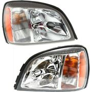 Headlight Lamp Left-and-right For De Ville Gm2503240 Gm2502240 Lh And Rh Deville