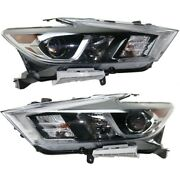 Headlight Lamp Left-and-right Ni2502240 Ni2503240 260104rf3b 260604rf3b
