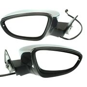 Set Of 2 Mirrors Left-and-right Heated For Vw Coupe Lh And Rh Beetle 12-18 Pair