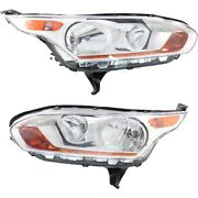 Headlight Lamp Left-and-right Fo2502326 Fo2503326 Dt1z13008a Dt1z13008d