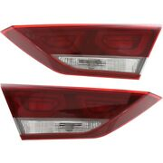 Set Of 2 Tail Lights Lamps Left-and-right Inside Hy2802137 Hy2803137 Pair