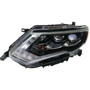 Headlight Lamp Left Hand Side Driver Lh For Nissan Rogue Ni2502256 26060-6fl6a