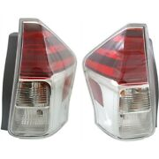 Tail Lights Lamps Set Of 2 Left-and-right To2801194 To2800194 Lh And Rh Pair