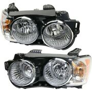 Headlight Lamp Left-and-right For Chevy Gm2502359c, Gm2503359c Sedan Lh And Rh