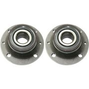 Pair Set Of 2 Wheel Hubs Rear Left-and-right Lh And Rh For Fiat 500 05154241ab