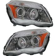 Headlight Lamp Left-and-right For Mercedes Lh And Rh Glk350 Mb2503188 Mb2502188