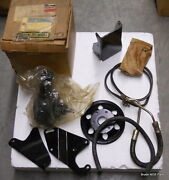 Nos New Mopar 1972-1977 Dodge B Power Steering Conversion Kit With 6-cyl