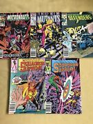 Marvel Comic 5 Books Collectibles