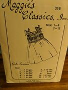 Maggieand039s Classic Sewing And Smocking Pattern 316