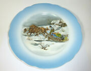 Rare Porcelain Plates Russia About 1900 Russian Motifs Russia
