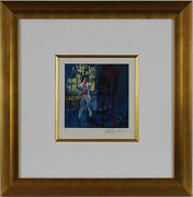Self Portriat By Leroy Neiman - Framed - Part Of The New York Suite