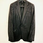 Rare-dior Homme Lusterf/w '03 1-button Heavywax Coated Blazer. Hedi Slimane