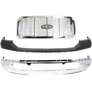 Bumper Cover Grille Assembly For 2006-2007 Ford F-350 Super Duty Front Kit