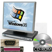 Computer With 17 16 7/8in Display Cd - Rom Windows 98se Rs-232 Lpt Parallel