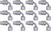 Aeroquip Fcm1122 Hose End Fitting -6 An Hose 90 Degree Elbow Steel 12 Pack