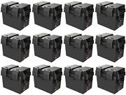 Noco Hm300bk Battery Box Snap-top Fits Group 24 Batteries 12 Pack