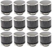 Moroso Performance 68815 Crankcase Breather Filter Clamp-on Type 12 Pack