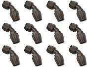 Russell Automotive 610115 Hose End Fitting Full Flow -10 An Hose 12 Pack