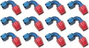 Russell Automotive 610180 Hose End Fitting Full Flow -10 An Hose 12 Pack