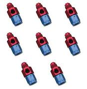 Russell Automotive 670340 Fuel Pressure Gauge Fitting 8 Pack