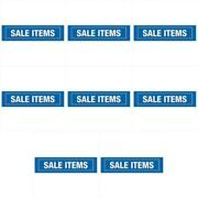 Ntp Distrib Sssaleitems Store Fixture Merch Display Rv Sale Items Sign 8 Pack