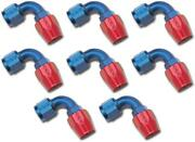 Russell Automotive 610180 Hose End Fitting Full Flow -10 An Hose 8 Pack