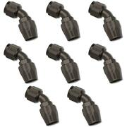 Russell Automotive 610115 Hose End Fitting Full Flow -10 An Hose 8 Pack