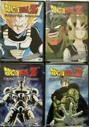 Dragon Ball Z Series Complete Perfect Cell Saga Collection 4 Dvd Set Uncut
