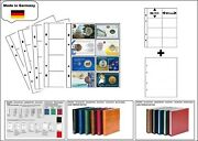 1 Look 1-7404-w Coin Sheets Premium 0 5/16x3 21/32x2 3/16in+ White Zwl For