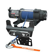 New Oem Polaris Rzr Pro Hd 4,500 Lb. Winch With Rapid Rope Recovery - 2882240