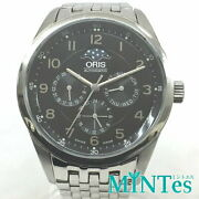 Oris Artelier Moon Phase At 7516 Complication Automatic-winding Watch Black Dial