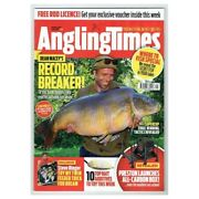 Angling Times Magazine October 10 2017 Mbox286 Record Breaker