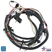 1974 Chevy Cars Engine Harness V8 Manual Transmission With Factory Gauges Ea