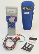 Tempo Sidekick 50605263 T And N Telephone / Cable Stress Tester