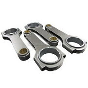 Cxracing 4pcs Forged H Beam Connecting Rods For Integra Gsr B18c 5.433 Length