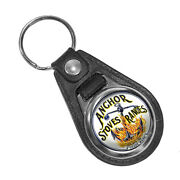 Anchor Stoves And Ranges Ovens Kitchen Appliances Ad Round Faux Leather Key Ring