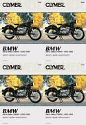 Clymer M308 Clymer Manual Bmw 500 And 600cc Twins 55-69 4 Pack