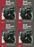 Clymer Ses2-2 Small Air-cooled Engine Service Manual Vol. 2 4 Pack
