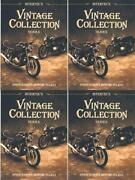 Clymer Vcs4 Clymer Manual Vintage 4-strokecollection 4 Pack