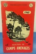 Vintage Directory French Camping Camp Sites Guide List 1960 Touring Club France