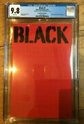 Black 1 Nycc Comic Con Red Edition Variant 87/99 2016 Cgc 9.8 1260759007