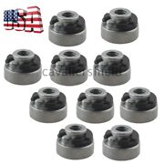 10pcs Motorcycle Fender Seat Nut Mounting Kit For Harley 59768-97 Replacement Us