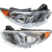 921024r050 921014r050 Hy2503177 Hy2502177 Headlight Lamp Left-and-right