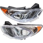 921024r050, 921014r050 Hy2503177, Hy2502177 Headlight Lamp Left-and-right