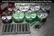 Manley Forged Platium Series Extreme Duty Pistons 5.0l Coyote Dish 3.700 9.01