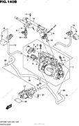 Suzuki M109 Oem Throttle Body Assembly With All Hardware 675