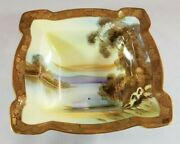 Antique Nippon Hand Painted Candy/nut Dish Morimura