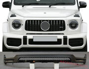 Front Lip With Led Drl For Mercedes-benz G-class G63 Amg W463a W464 2018+