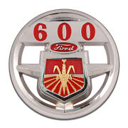 Ford Golden Jubilee Tractor 600 Corn Farm Motor Round Mdf Wood Sign